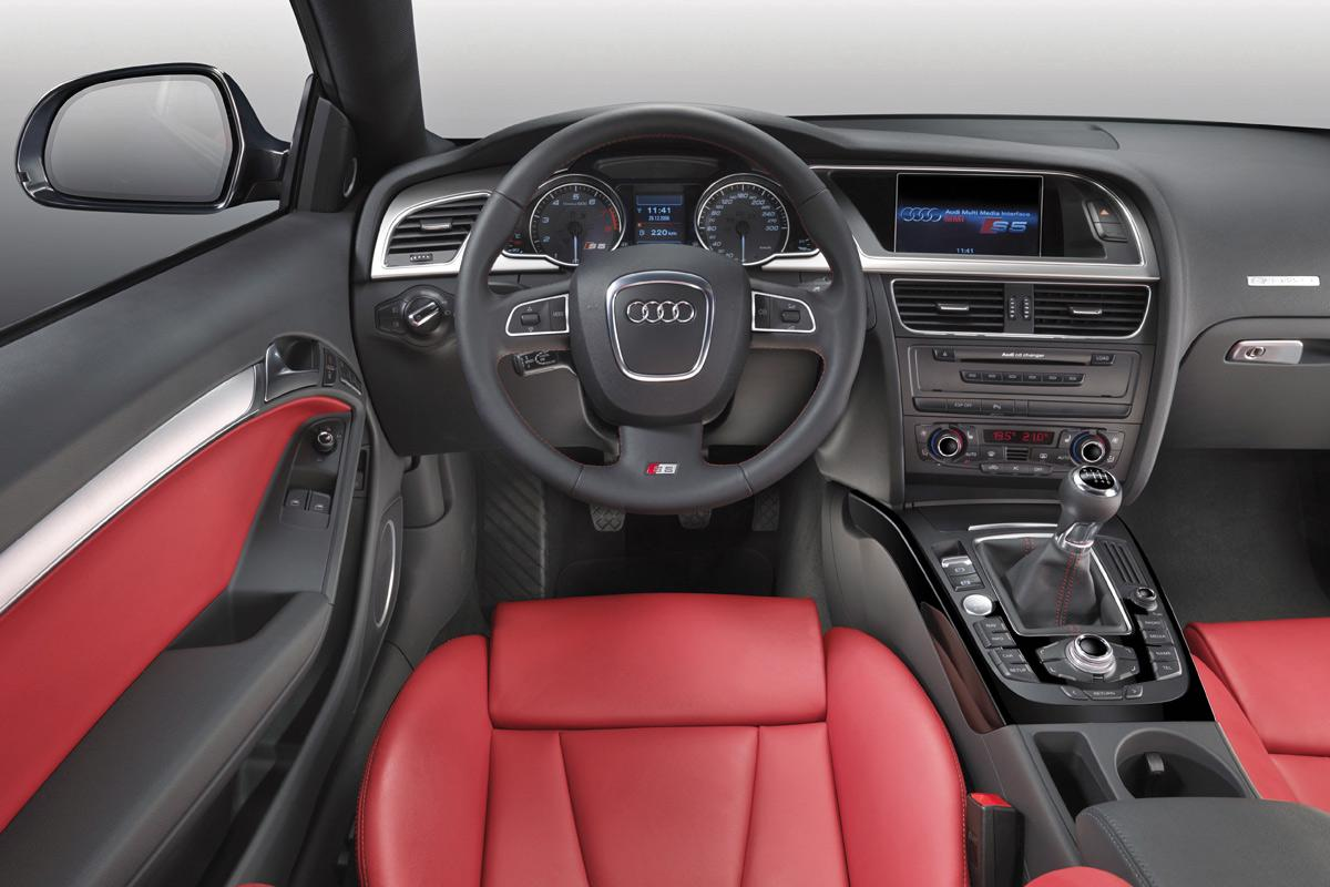 Audi A5 Coupe Interior - Viewing Gallery