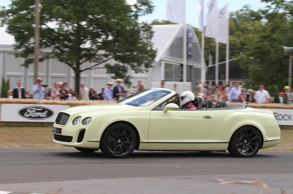 Foto Bentley Continental Supersports Convertible