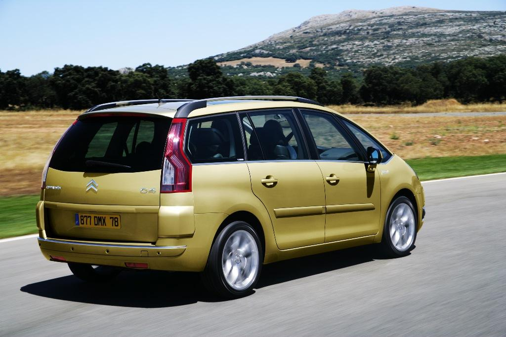 Citroen Grand C4 Picasso, foto movimiento Grand Picasso
