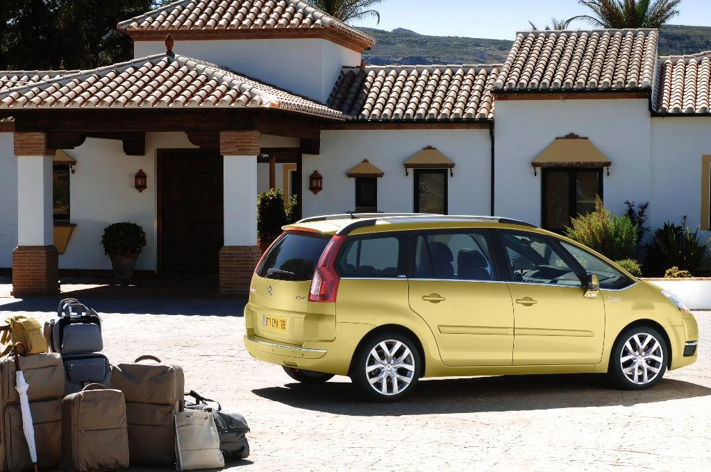 Citroen Grand C4 Picasso, lateral derecho Grand Picasso