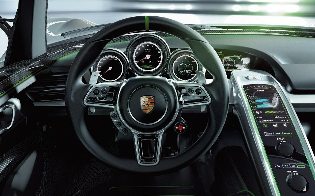 foto porsche 918 spyder concept foto volante automovil porsche. Black Bedroom Furniture Sets. Home Design Ideas