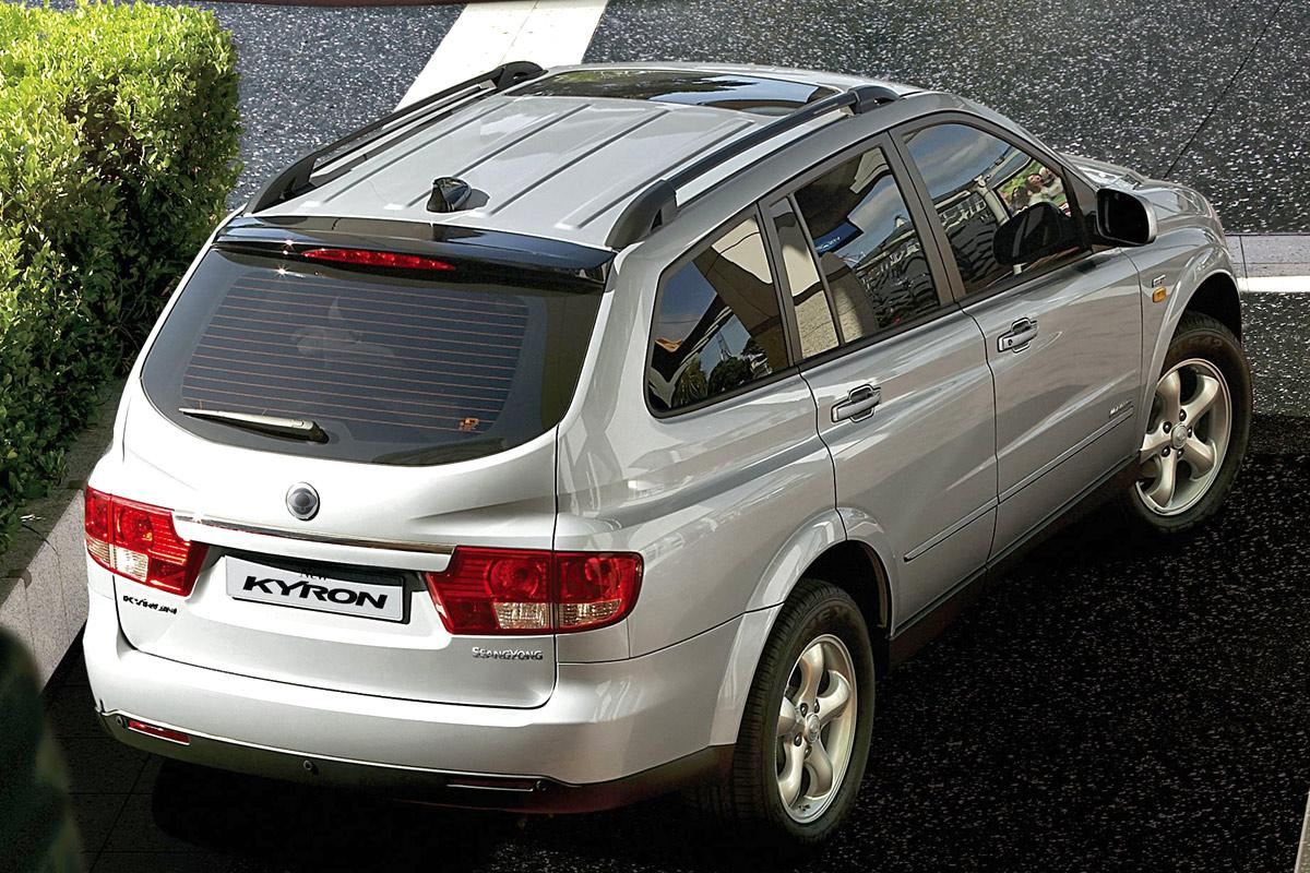 Vehiculos ssangyong