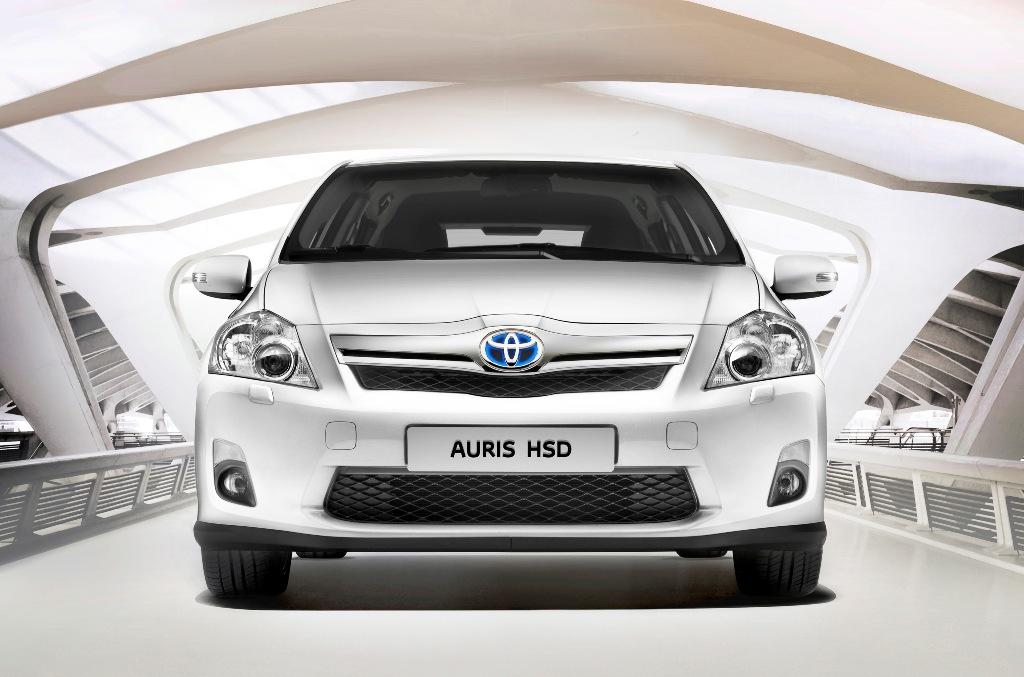 Toyota Auris HSD, frontal vehiculo, foto Toyota