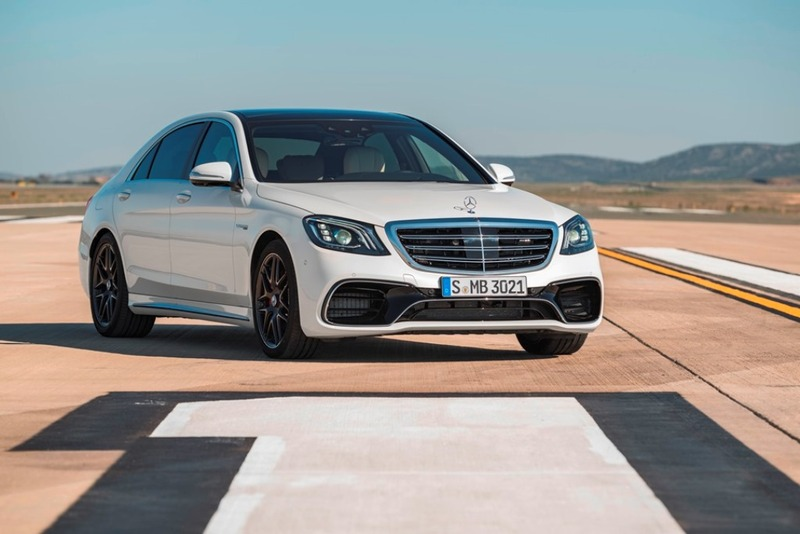 Foto Mercedes-AMG S 63 4MATIC+ 2017