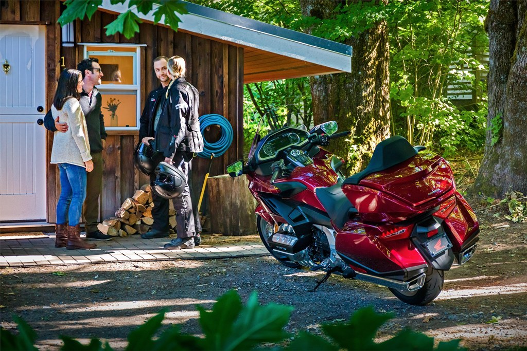 Foto Honda GL1800 Gold Wing Tour 2018