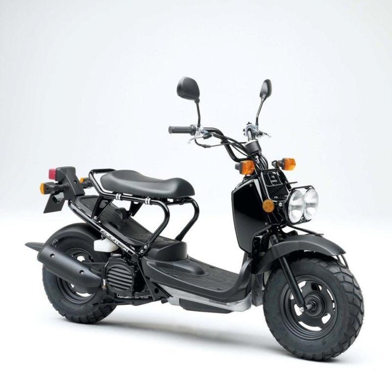 galer a de fotos de la moto honda zoomer 2009. Black Bedroom Furniture Sets. Home Design Ideas