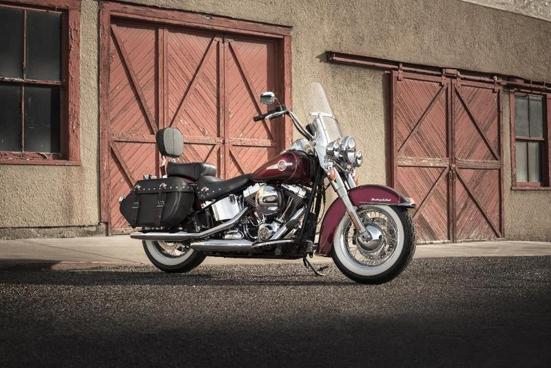 Foto Harley-Davidson Heritage Softail Classic 2017