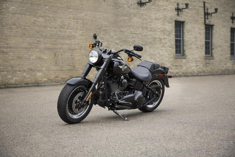 Foto Harley-Davidson Softail Fat Boy S 2017