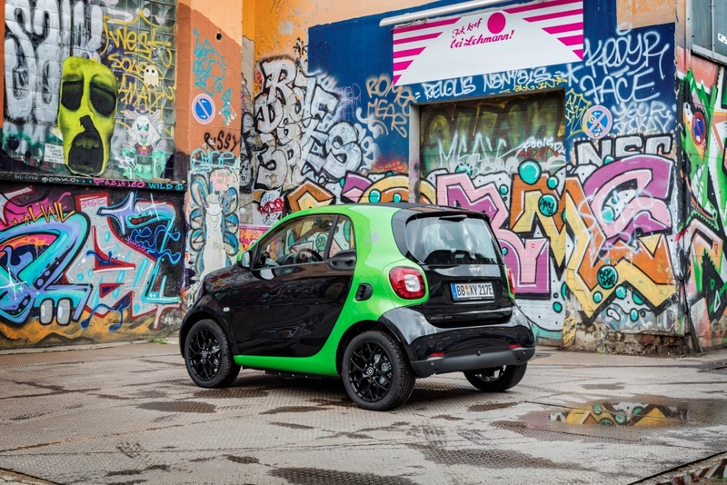 Foto smart fortwo coupé electric drive 2017