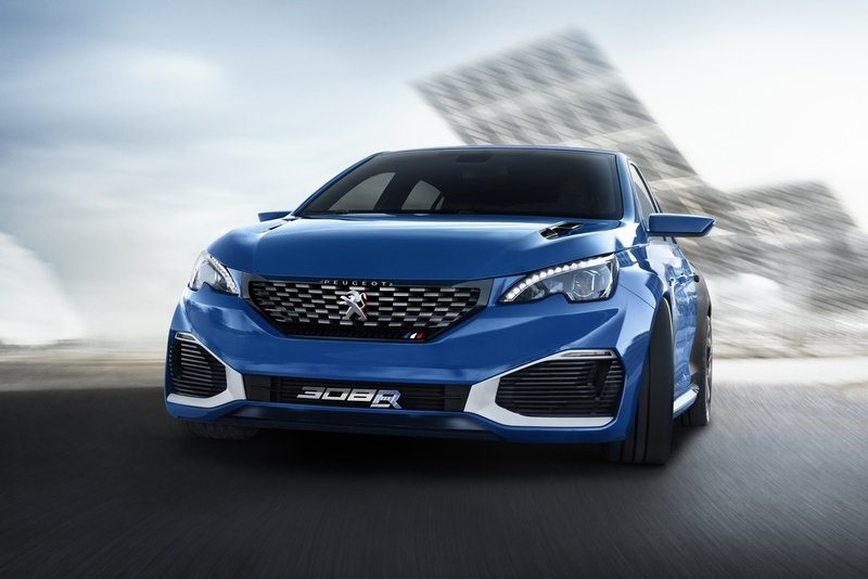 galer a de fotos peugeot 308 r hybrid concept. Black Bedroom Furniture Sets. Home Design Ideas