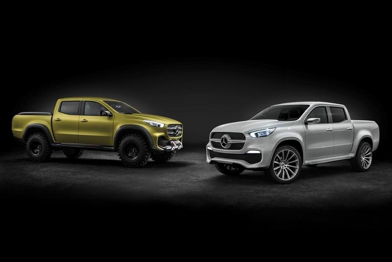 Foto Mercedes-Benz Concept Clase X stylish explorer