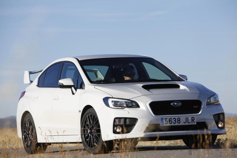 Foto Prueba SUBARU WRX STI
