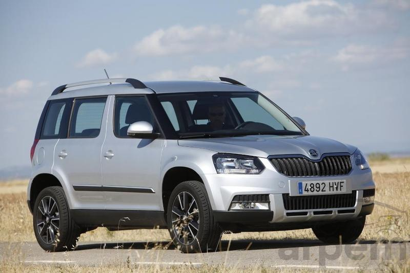 prueba skoda yeti outdoor 2 0 tdi 110 cv ambition. Black Bedroom Furniture Sets. Home Design Ideas