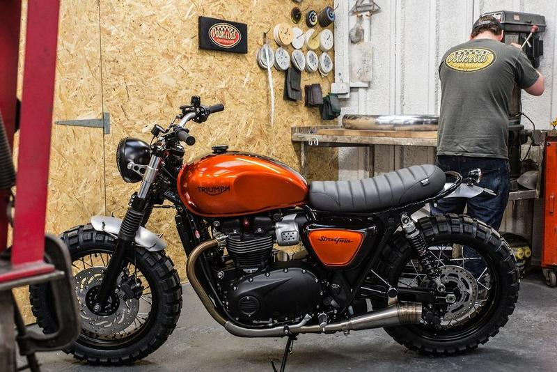 Foto Triumph Street Twin 2016 by Down and Out Café Racers