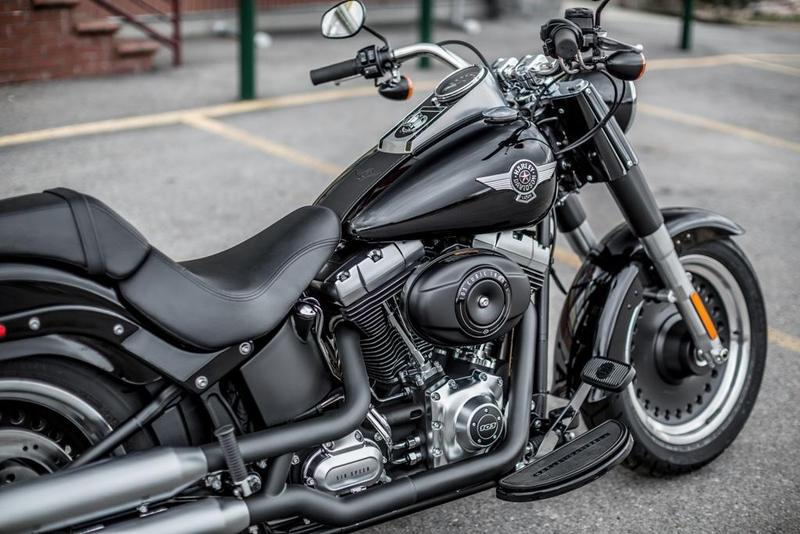 foto harley davidson softail fat boy special 2015 asiento motocicleta. Black Bedroom Furniture Sets. Home Design Ideas