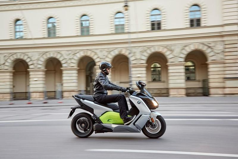 Foto BMW C evolution 2017