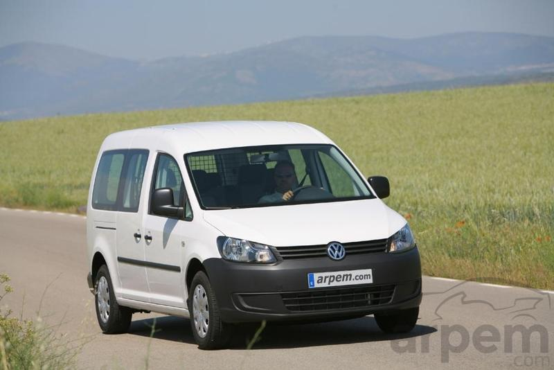 Foto Prueba VOLKSWAGEN CADDY Maxi Kombi