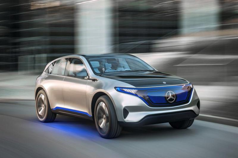 Foto Mercedes-Benz Generation EQ Concept