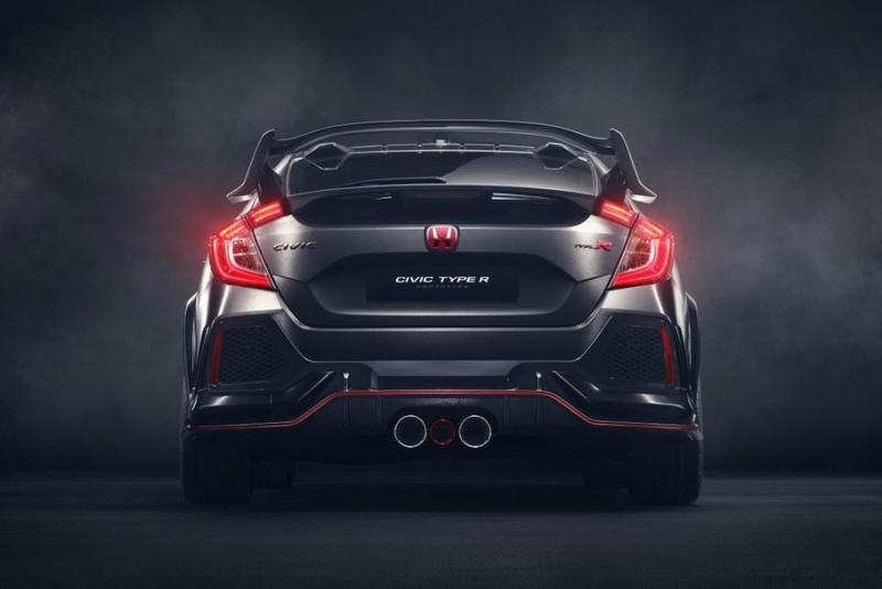 Foto Honda Civic Type R Prototype