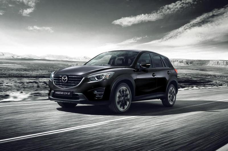 la gama mazda cx 5 recibe la versi n black tech edition. Black Bedroom Furniture Sets. Home Design Ideas