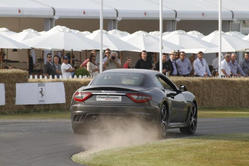 El Maserati Ghibli captura todas las miradas en el Goodwood Festival of Speed