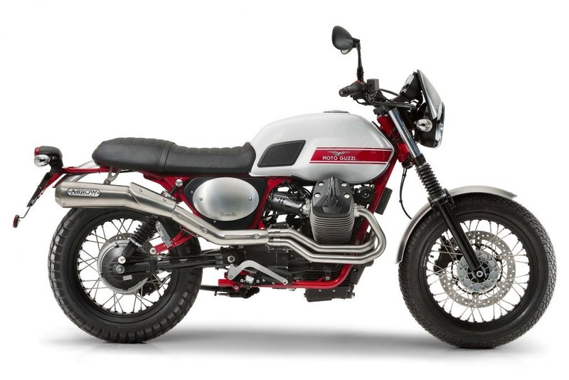 La  Moto Guzzi V7 ll Stornello ya disponible