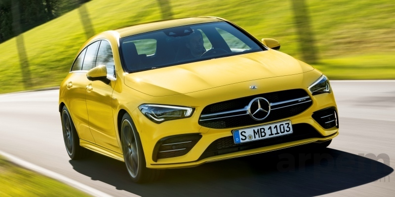 Mercedes-AMG CLA 35 4MATIC Shooting Brake 2020