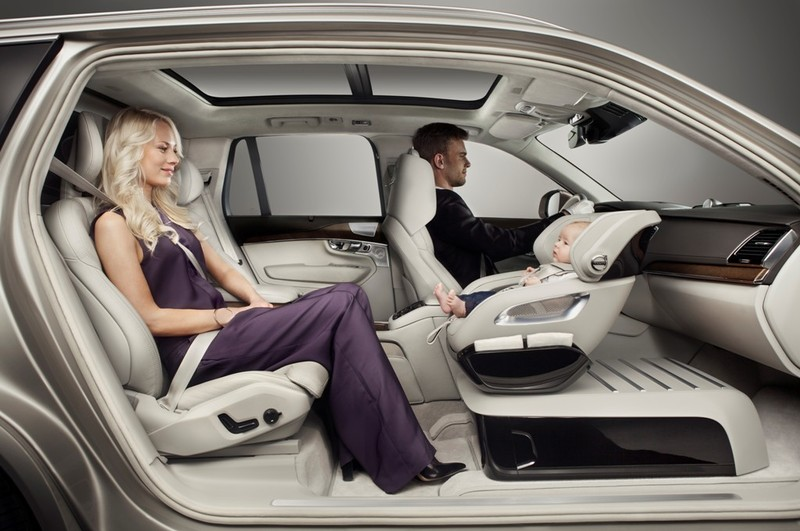 Volvo Cars muestra el sistema Excellence Child Seat Concept