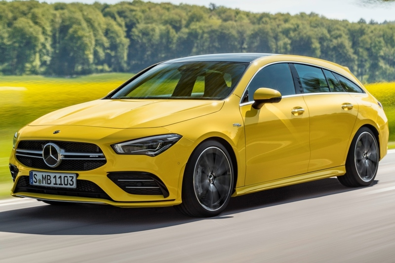 Mercedes-Benz CLA Shooting Brake 2020: nueva versión AMG CLA 35 4MATIC de 306 CV