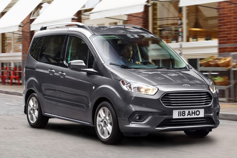Ford  Tourneo Courier Ambiente 1.0 EcoBoost 74 kW (100 CV)