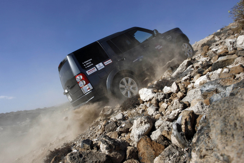 El IV Land Rover Discovery CHallenge