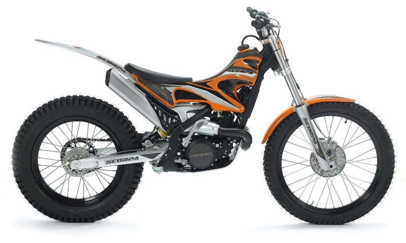 Scorpa Scorpa SR 125 R Long Ride