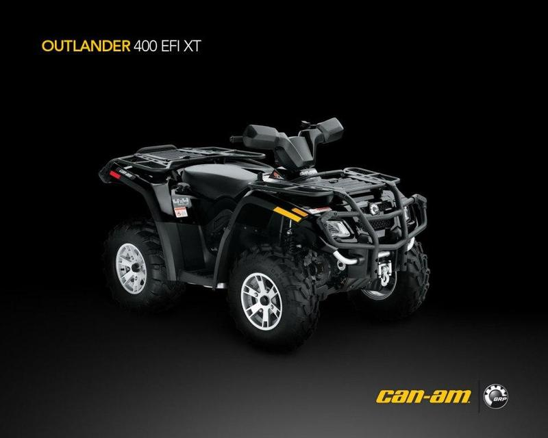 Can-Am Can-Am Outlander 400 EFI XT