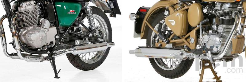 Comparativa Mash Five Hundred 400 & Royal Enfield Classic Desert Storm