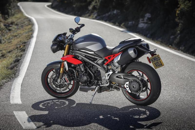 Disponible las nuevas Speed Triple S y Speed Triple R
