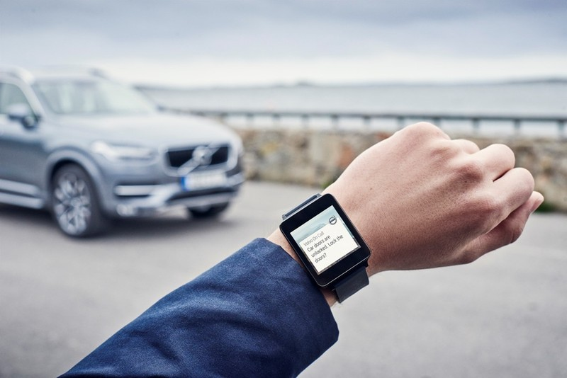 Controla tu Volvo desde Apple Watch o Android Wear