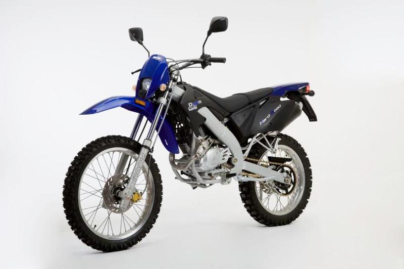 MH Motorcycles MH Duna 125 Hard Road Eco