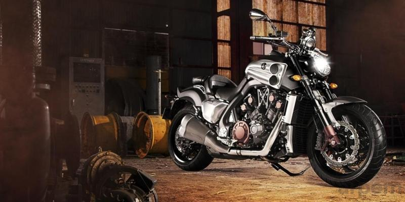 Yamaha VMAX Matt Grey