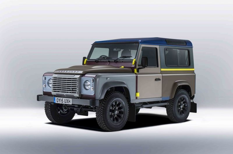 Paul Smith nos muestra su peculiar visión del Land Rover Defender