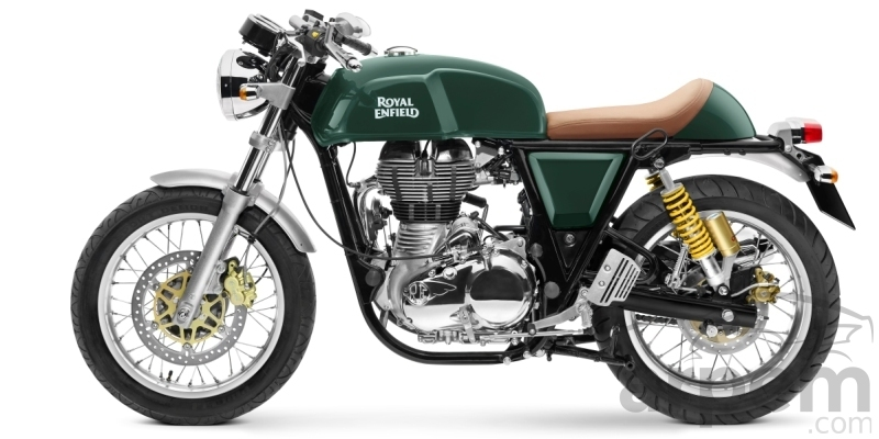 Royal Enfield GT Continental 535 Green