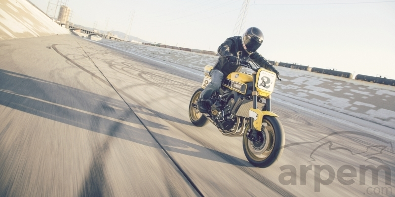 Yamaha Yard Built 900 'Faster Wasp'