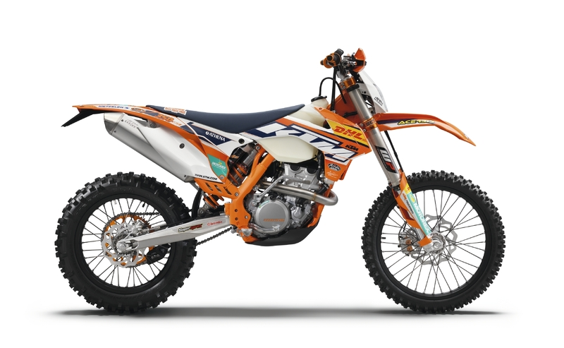 Ya está disponible la seria limitada KTM EXC Factory