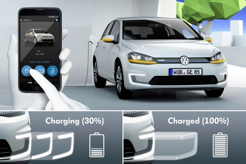 Volkswagen presenta el e-Golf Intelligent Charge