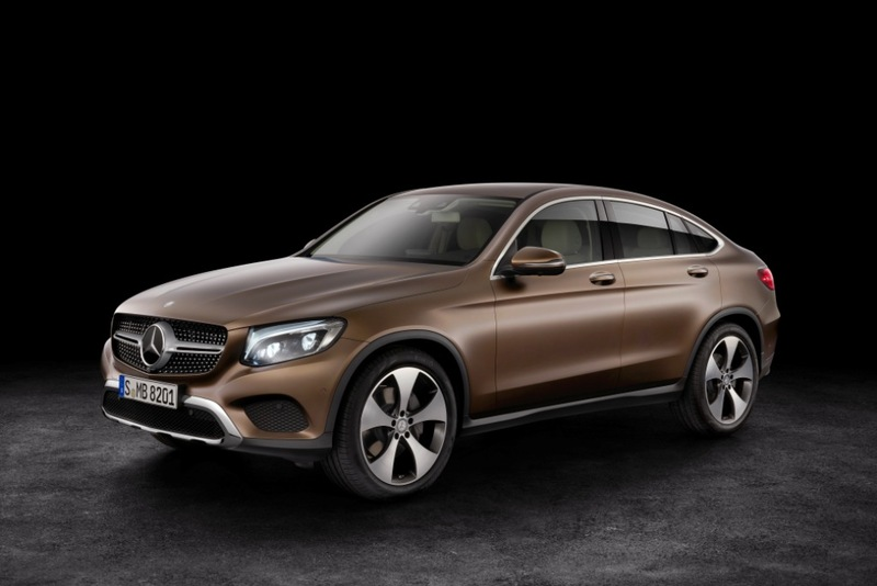 Mercedes-Benz  GLC Coupé GLC 350 d 4MATIC Coupé