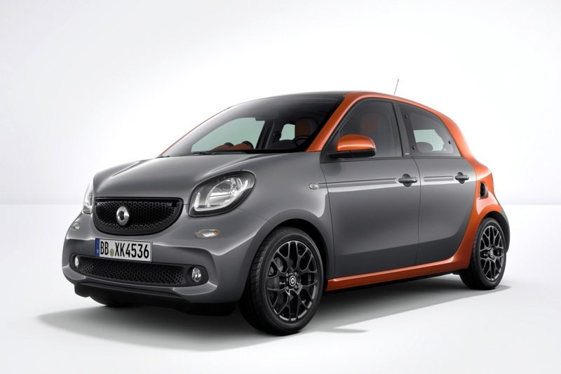 Smart  forfour 52 kW (71 CV) twinamic