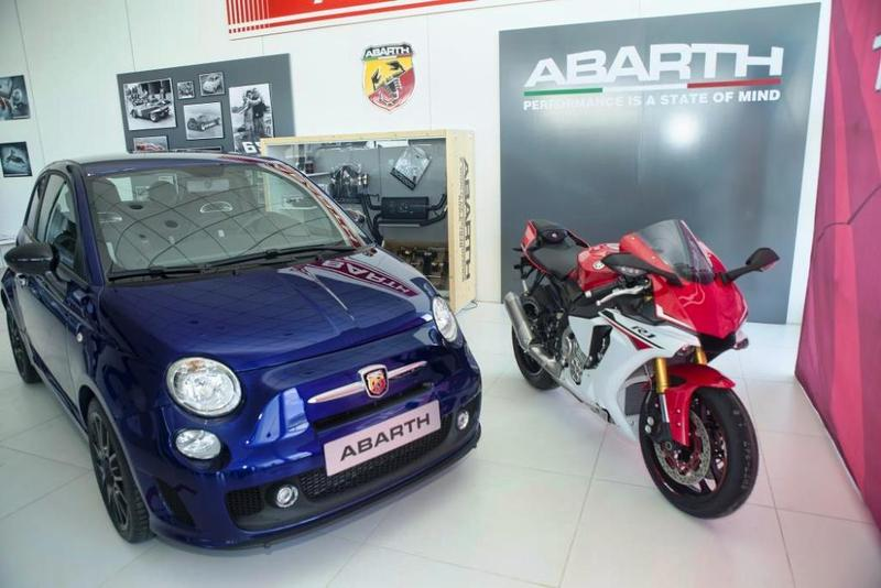 abarth presenta la versi n 595 yamaha 99 limited edition. Black Bedroom Furniture Sets. Home Design Ideas