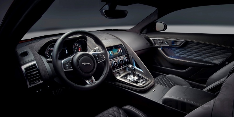 Interior Jaguar F-TYPE SVR