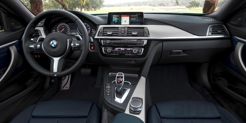 Interior BMW Serie 4 Coupé Sport