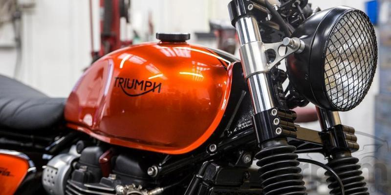 Street Twin 2016 by Down and Out Café Racers