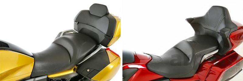 Comparativa BMW K 1600 Grand America 2018 & Honda GL1800 Gold Wing Tour 2018